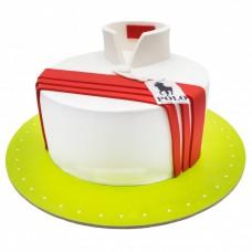 کیک فوندانت پولو