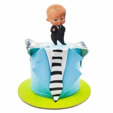 کیک فوندانت بچه رئیس