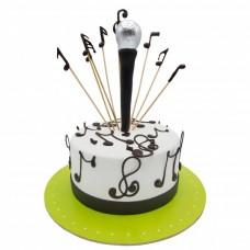 کیک فوندانت موسیقی