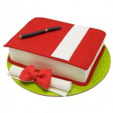کیک فوندانت فارغ التحصیلی