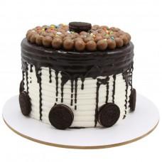 کیک شکلات و وانیل