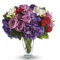 Teleflora's Rhapsody in Purple a3628