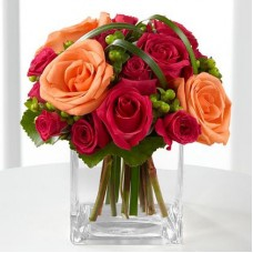 The FTD Deep Emotions Rose Bouquet a1128
