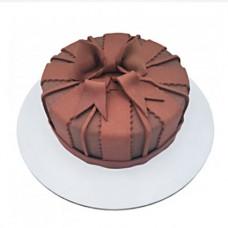 کیک پاپیون شکلاتی
