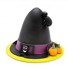 کیک هالووین کلاه جادوگر