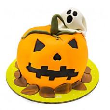 کیک هالووین کدو