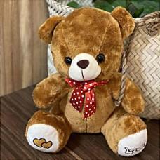 عروسک خرس مهربان قهوه ای