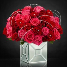 The FTD Blushing Extravagance Luxury Bouquet by Kalla a1262